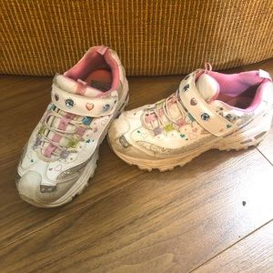 Skechers Hot Lights Angelics Enchanted girl size 3